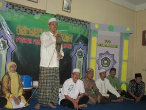 Tausiah Ketua YPI Assalamah, KH Drs Bahrudin Toyib, MM