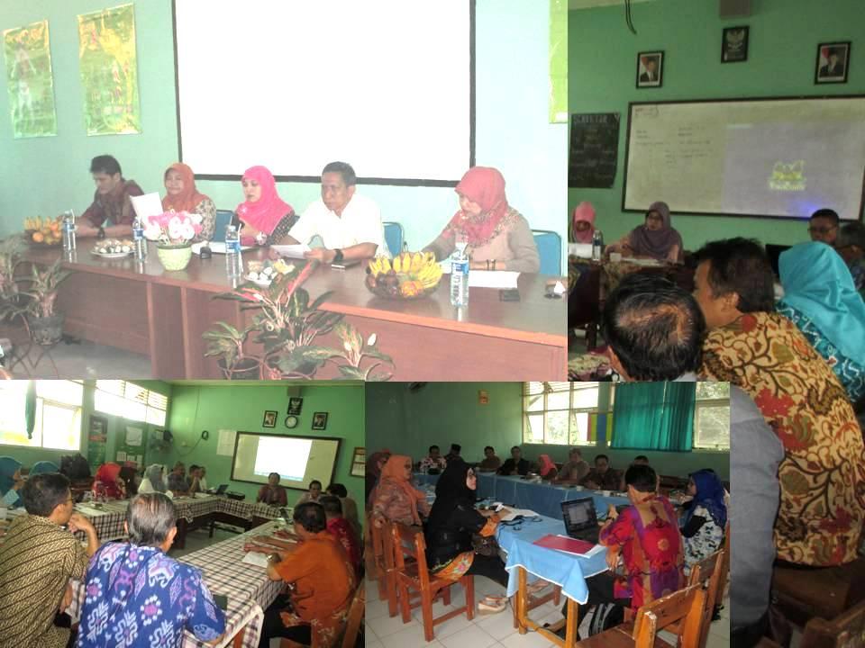 Kadisdik kota Depok, M. Thamrin Pimpin Raker di SMPN 6