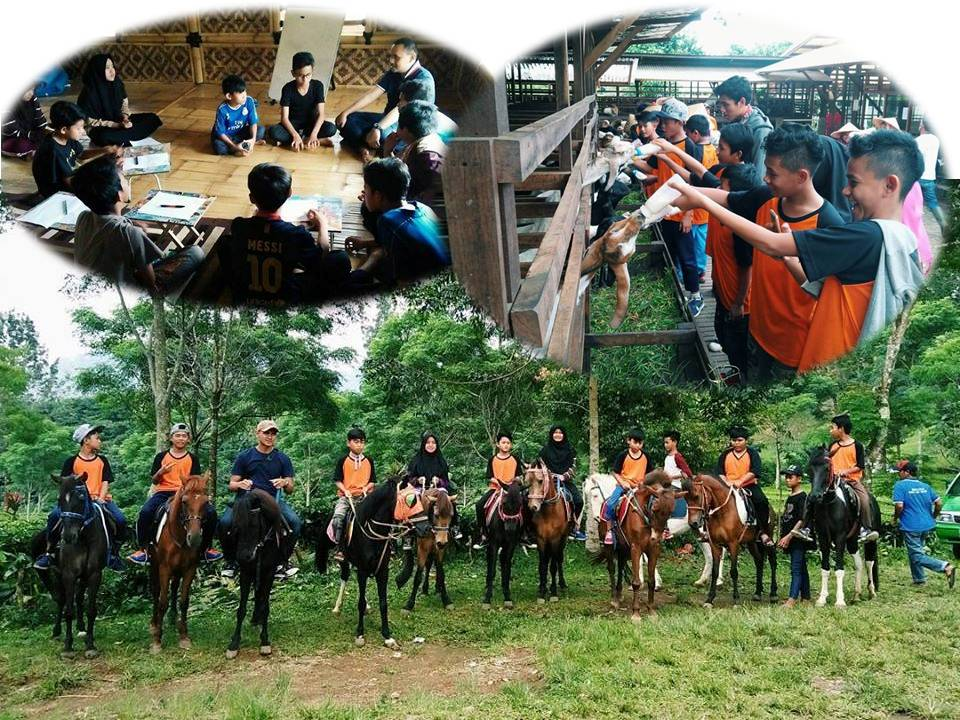 Sekolah Alam di Pesantren Alam Pangrango, Bogor
