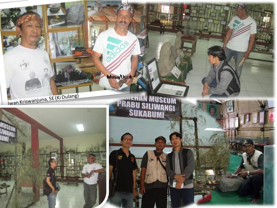 Ki Dulang dan Ucok salah satu pengurus benda-benda-bersejarah-di Museum Prabu Siliwangi