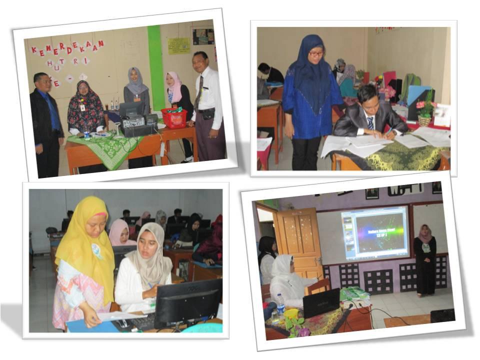 Uji Kompetensi Keahlian di SMK Assalamah