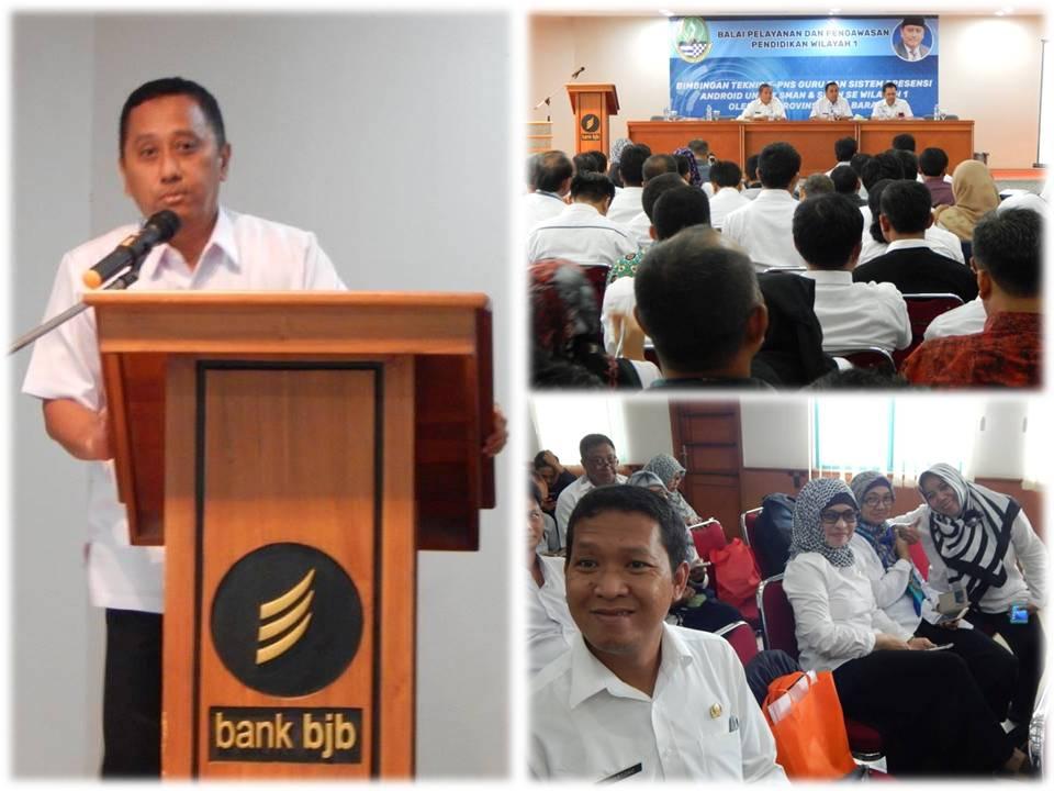 sosialisasi BP3 Wilayah 1di Aula BJB, Cibinong Bogor