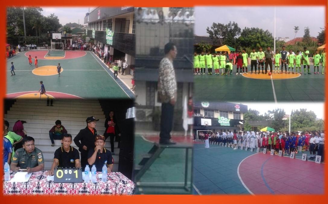 Upacara pembukaan Porsenitek SMP PGRI Depok 2 Tengah