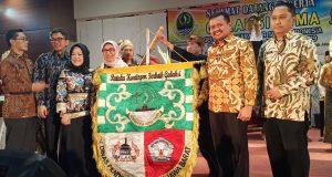 Kepala Dinas Pendidikan (Kadisdik) Jawa Barat, Dewi Sartika membuka Gelar Aksi Karakter Siswa Indonesia (GALAKSI) Tingkat Provinsi Jawa Barat Tahun 2019