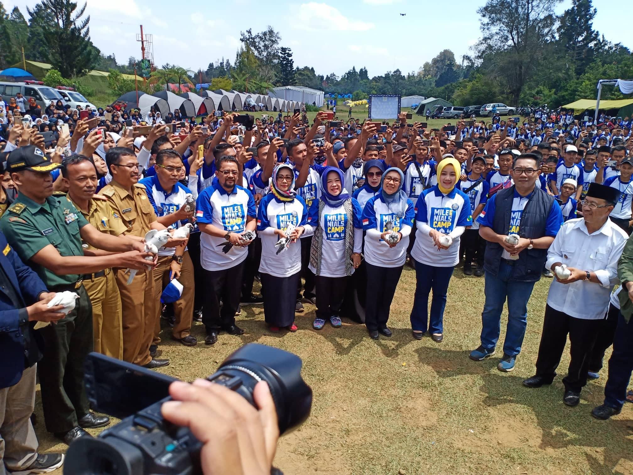 Gubernur Jawa Barat Hadiri Milenial Camp 2019