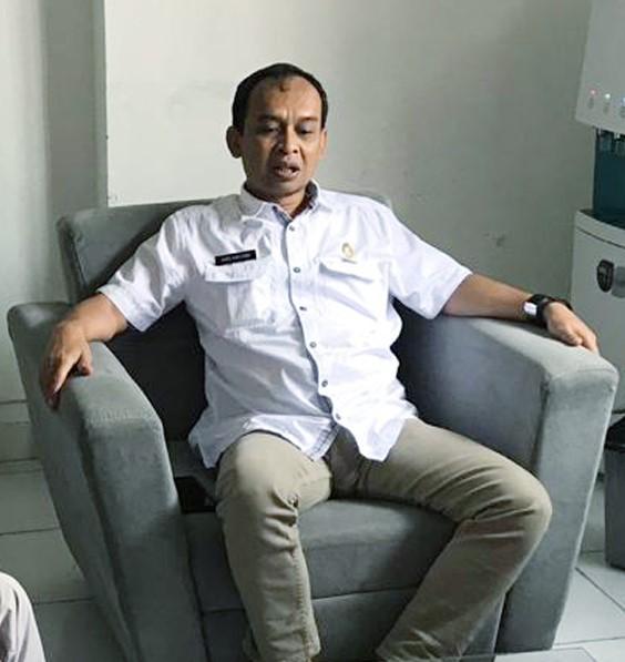 Kepala Cabang Dinas Pendidikan wilayah 2 Provinsi Jawa Barat, Drs. Aang Karyana, MP.d