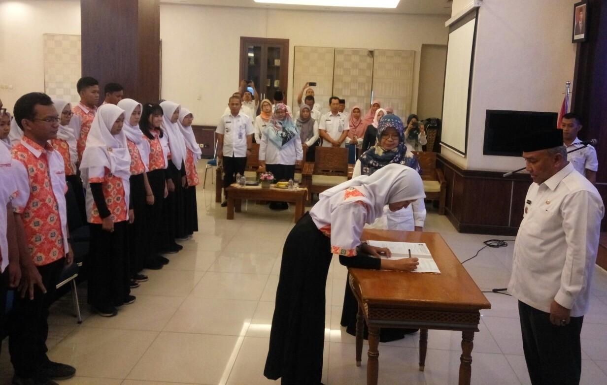 Mohammad Idris Lantik Pengurus Forum Anak Depok