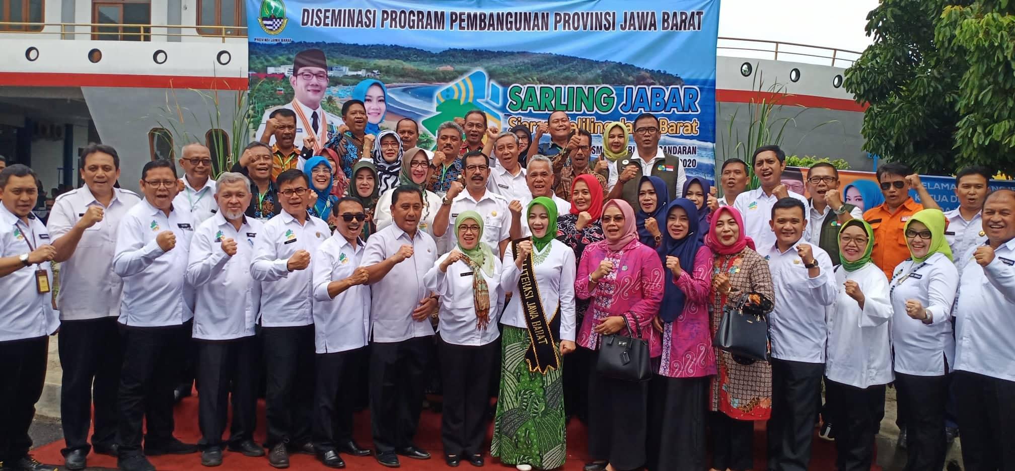 Bunda Literasi Jawa Barat, Atalia Praratya Sapa Siswa-Siswi SMKN 1 Pangandaran