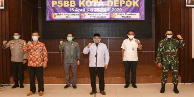 Mohammad Idris minta warga tetap dirumah selama PSBB